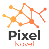 Pixel Novel logo
